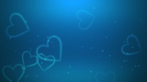 Valentines-day-shiny-background-Animation-romantic-heart-6