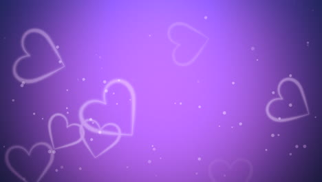 Valentines-day-shiny-background-Animation-romantic-heart-7