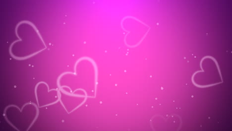 Valentines-day-shiny-background-Animation-romantic-heart-8