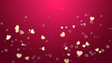 Valentines-day-shiny-background-Animation-romantic-heart-13