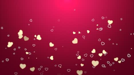 Día-De-San-Valentín-Fondo-Brillante-Animación-Corazón-Romántico-13