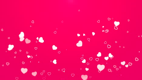 Valentines-day-shiny-background-Animation-romantic-heart-14
