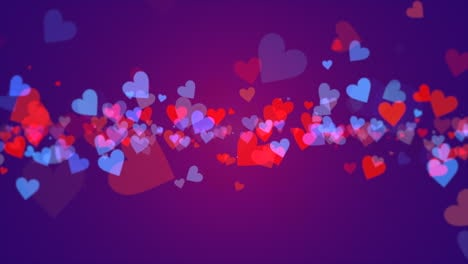 Valentines-day-shiny-background-Animation-romantic-heart-11