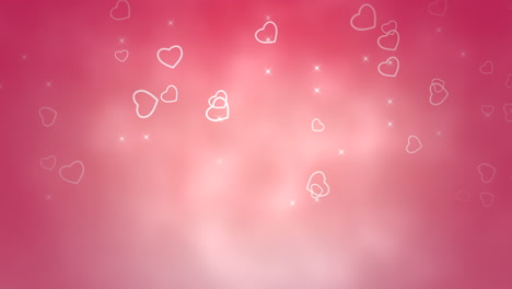 Valentines-day-shiny-background-Animation-romantic-heart-30