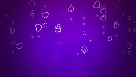 Día-De-San-Valentín-Fondo-Brillante-Animación-Corazón-Romántico-34