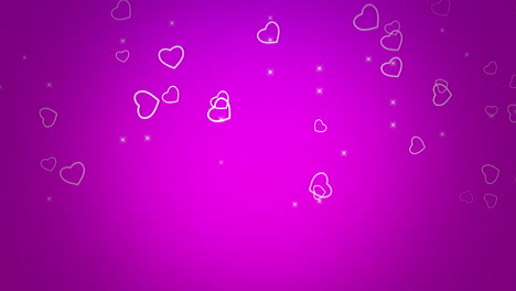 Valentines-day-shiny-background-Animation-romantic-heart-35