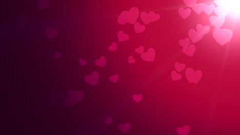 Valentines-day-shiny-background-Animation-romantic-heart-38