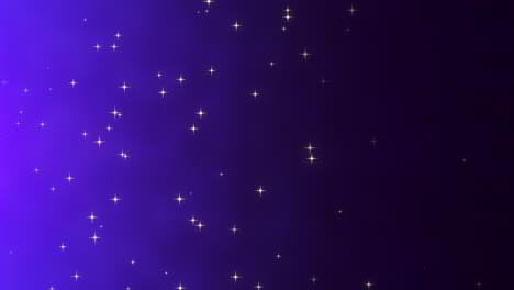 Partículas-De-Movimiento-Y-Estrellas-En-Galaxia-Con-Fondo-Abstracto-4