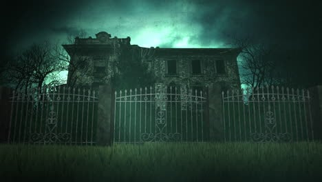 Mystical-horror-background-with-the-house-and-moon-4