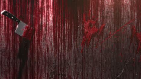 Fondo-De-Terror-Místico-Con-Sangre-Oscura-Y-Cuchillo.