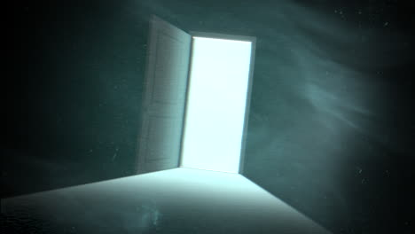 Mystical-horror-background-with-dark-door-of-room