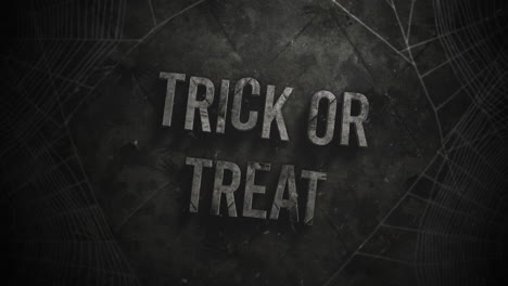 Trick-or-Treat-and-mystical-horror-background-with-dark-spiderweb
