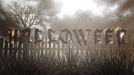 Halloween-and-mystical-halloween-background-with-dark-forest-and-fog