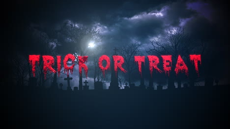 Trick-or-Treat-on-mystical-halloween-background-with-dark-clouds