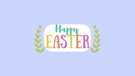 Animated-closeup-Happy-Easter-text-on-purple-background-2