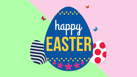 Animated-closeup-Happy-Easter-text-and-eggs-on-green-and-pink-2
