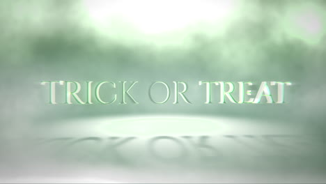 Trick-or-Treat-on-mystical-horror-background-with-green-fog