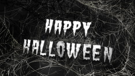 Happy-Halloween-and-mystical-horror-background-with-dark-spiderweb