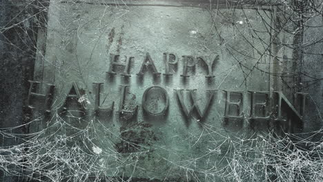 Happy-Halloween-and-mystical-horror-background-with-dark-spiderweb-1