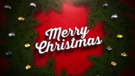 Merry-Christmas-text-with-colorful-garland