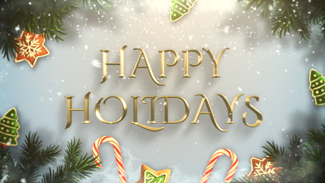 Happy-Holidays-text-with-green-tree-branches-and-toys-1