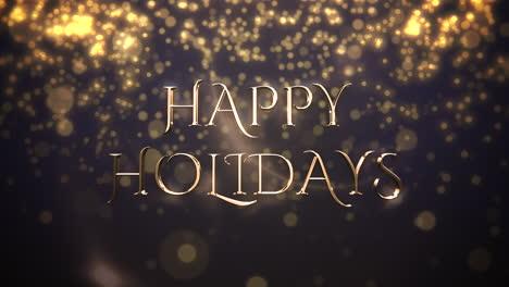 Partículas-De-Bokeh-Abstracto-Dorado-Cayendo-Y-Texto-De-Felices-Fiestas