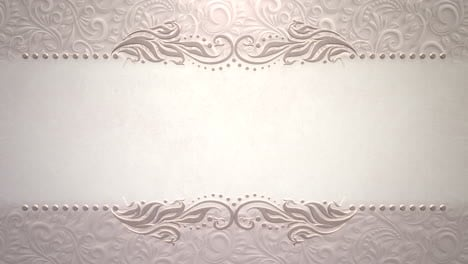 Closeup-vintage-frame-with-flowers-motion-with-wedding-background-9