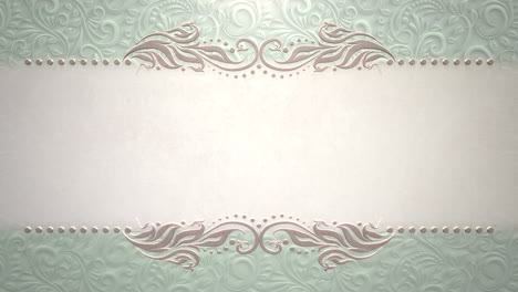 Closeup-vintage-frame-with-flowers-motion-with-wedding-background-10