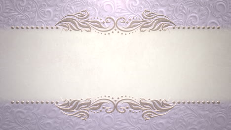Closeup-vintage-frame-with-flowers-motion-with-wedding-background-11