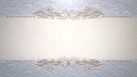 Closeup-vintage-frame-with-flowers-motion-with-wedding-background-12
