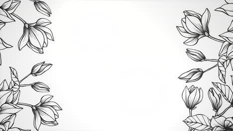 Primer-Plano-Flores-Con-Movimiento-Boda-Plano-De-Fondo-9
