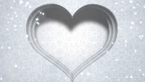 Closeup-white-hearts-of-love-with-wedding-background