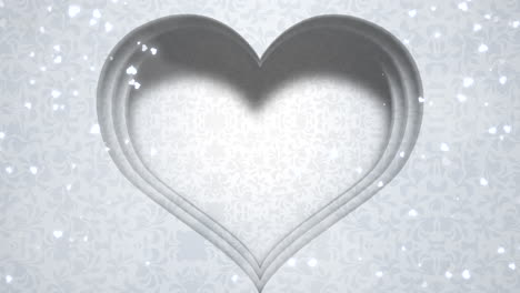 Closeup-white-hearts-of-love-with-wedding-background-1