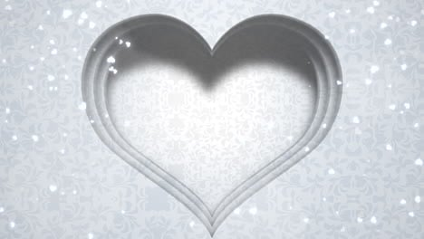 Closeup-white-hearts-of-love-with-wedding-background-2