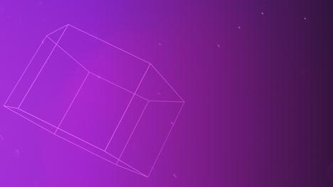 Bewegung-Abstrakte-Geometrische-Form-Mit-Partikeln-Im-Raum-6