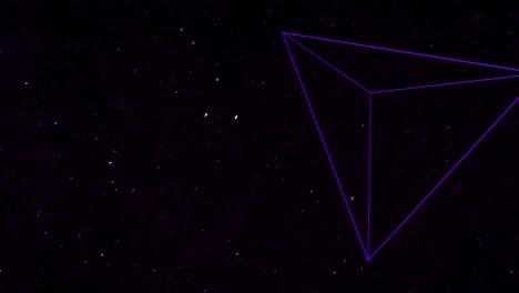 Bewegung-Abstrakte-Geometrische-Form-Mit-Partikeln-Im-Raum-9