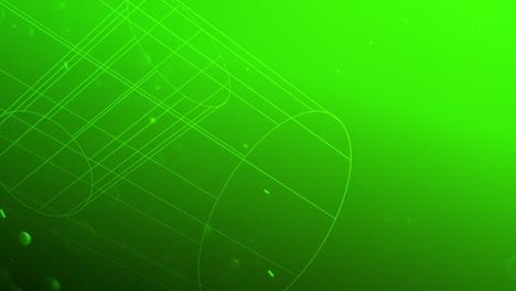 Forma-Geométrica-Abstracta-De-Movimiento-Con-Partículas-En-El-Espacio-17