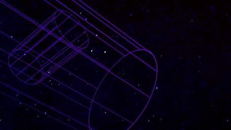 Motion-abstract-geometric-shape-with-particles-in-space-18