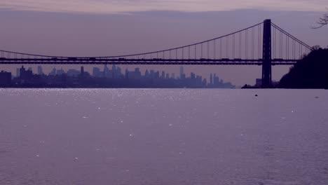 El-Puente-George-Washington-Conecta-Nueva-Jersey-Al-Estado-De-Nueva-York-Con-El-Horizonte-De-Manhattan-1