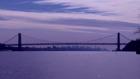 El-Puente-George-Washington-Conecta-Nueva-Jersey-Al-Estado-De-Nueva-York-Con-El-Horizonte-De-Manhattan-6