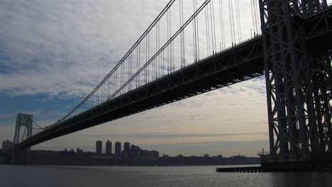 Plano-General-Del-Puente-George-Washington-Que-Conecta-Nueva-York-Con-Nueva-Jersey