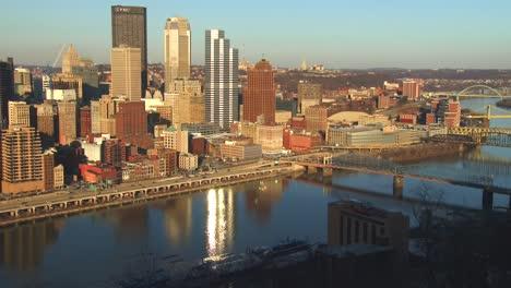 Plano-General-Del-Centro-De-Pittsburgh-PA-1