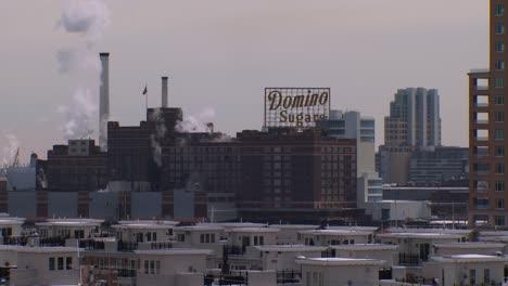 The-Domino-Sugar-factory-on-Chesapeake-Bay-near-Baltimore-Maryland-1