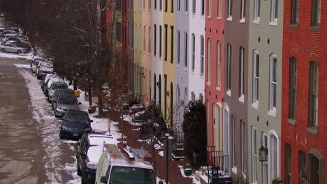 Rowhouses-line-the-streets-of-Baltimore-Maryland-1