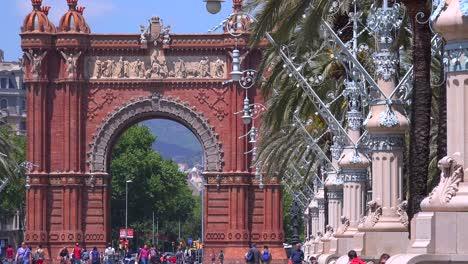 El-Arco-De-Triunfo-De-Barcelona-España-1