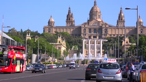 The-National-palace-of-Barcelona-Spain