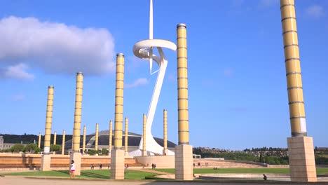 Olympic-Park-in-Barcelona-Spain