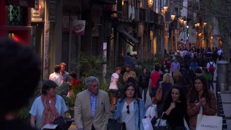 Nighttime-in-Barcelona-Spain
