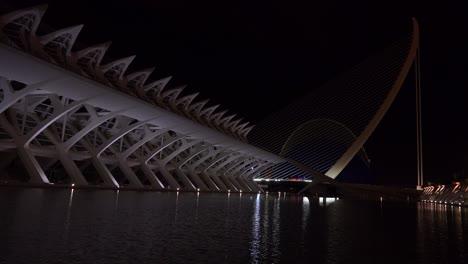 The-futuristic-architecture-of-Valencia-Spain-night-2