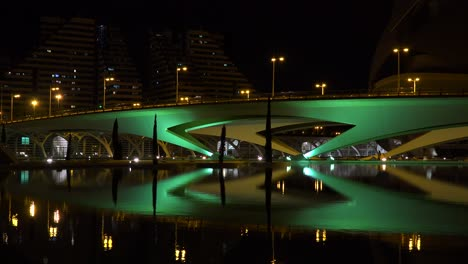 The-futuristic-architecture-of-Valencia-Spain-night-3